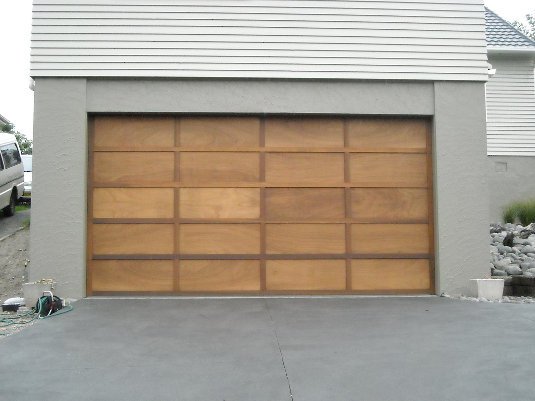 Cedar Sectional Doors image 2