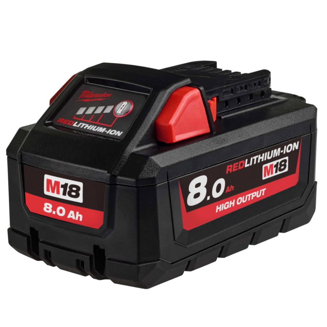 Milwaukee M18HB8 High Output 8.0Ah Lithium Battery image 0