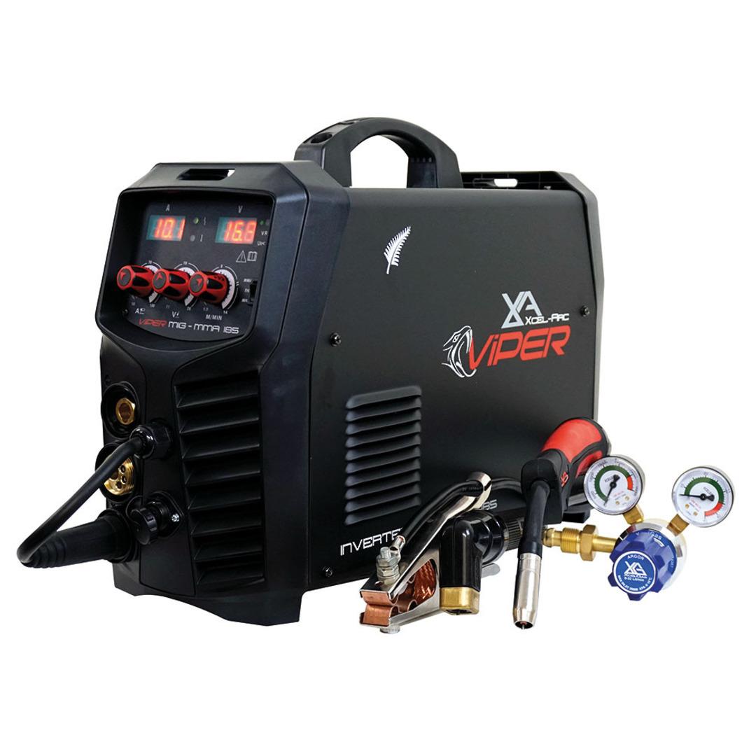 Viper MIG185 MIG/MMA/TIG Inverter Welder image 1