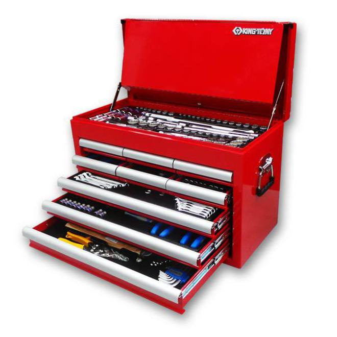 King Tony 9 Drawer 236pc Tool Chest image 0