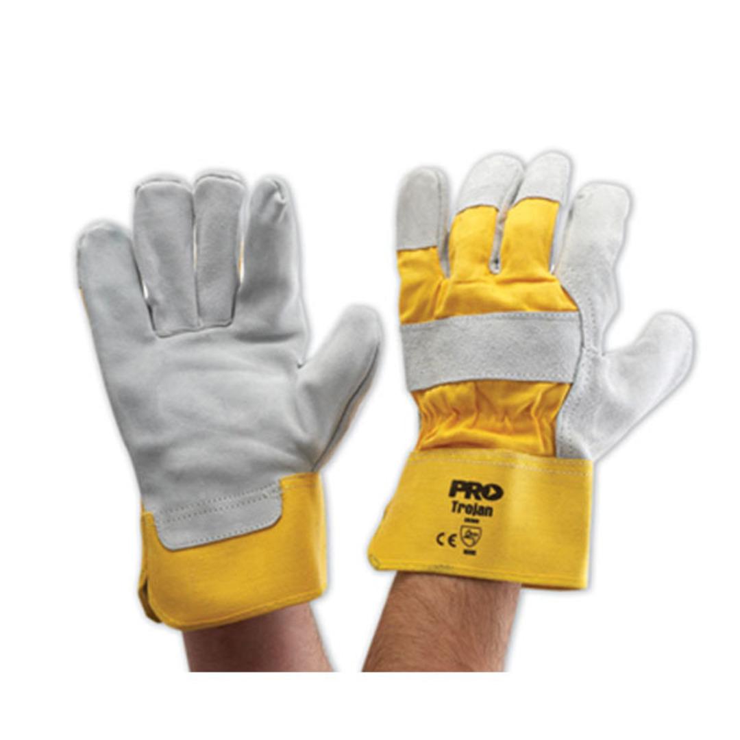 ProChoice GP Work Glove Yellow Grey image 0