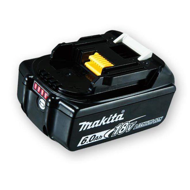 Makita 6Ah 18V Li-Ion Battery - BL1860B image 0