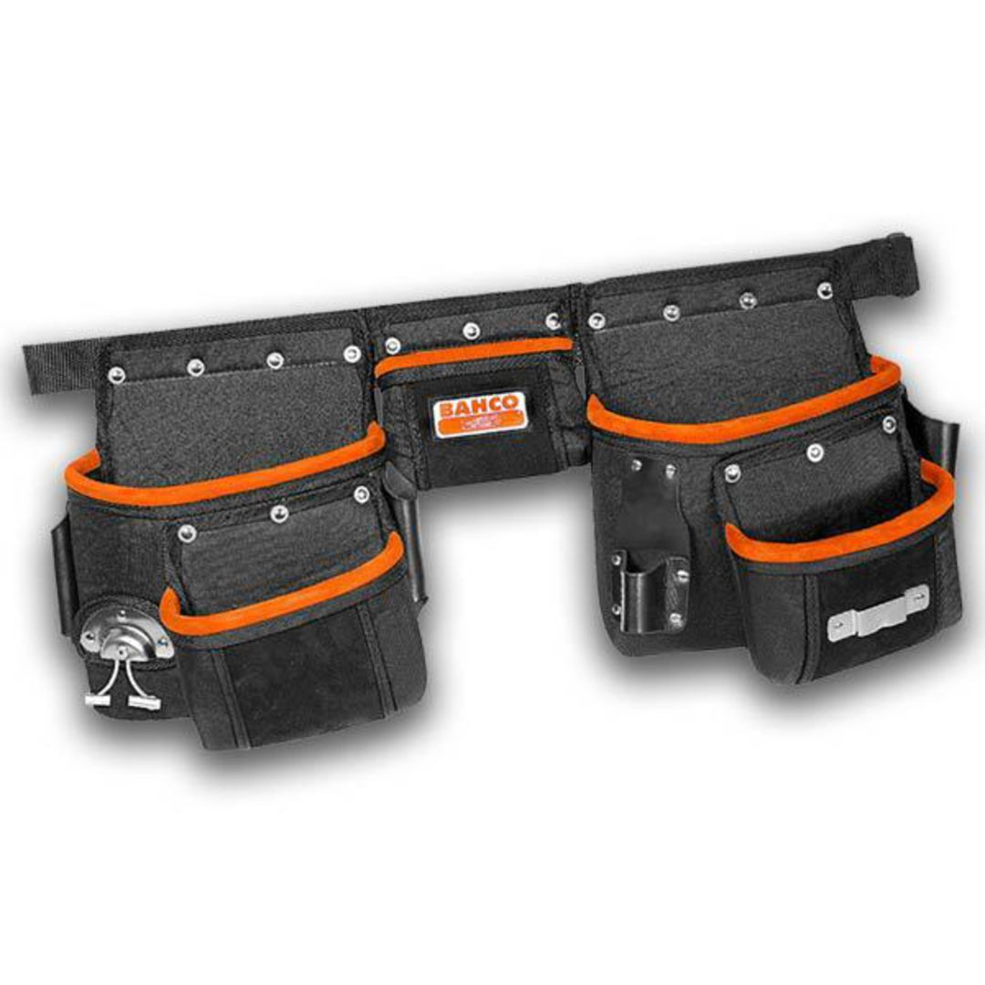 Bahco Heavy Duty Tool Belt with Pouches image 0