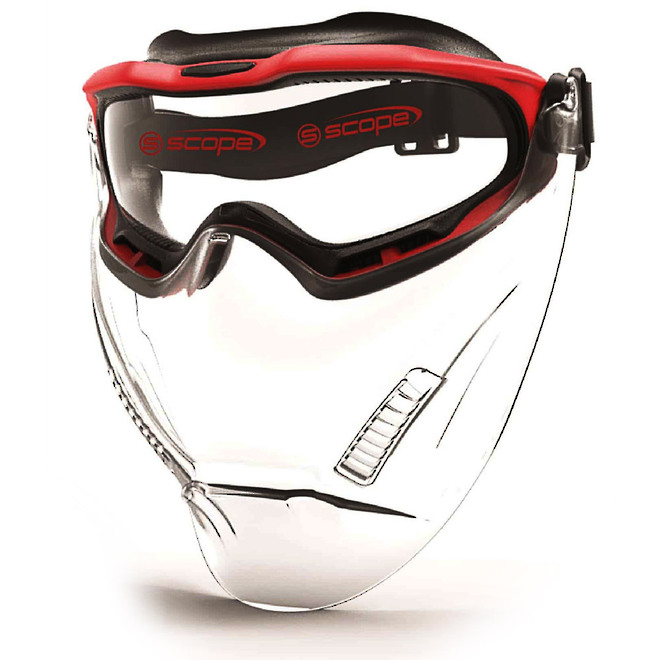 Scope SPARTAN Visor Face Shield image 0