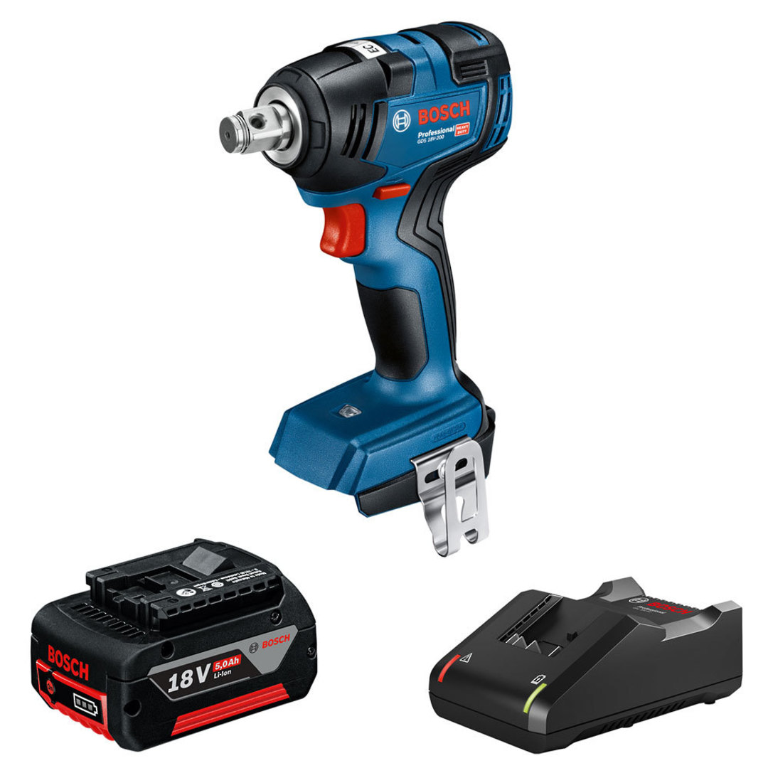 BOSCH 18V 5.0Ah Impact Wrench Limited Release Kit image 0