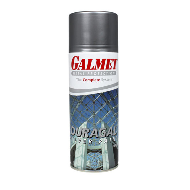 Galmet Duragal Silver Spray Paint 350g image 0