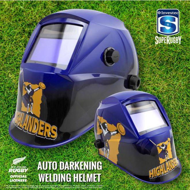 Investec Super Rugby Auto Darkening Welding Helmets image 5