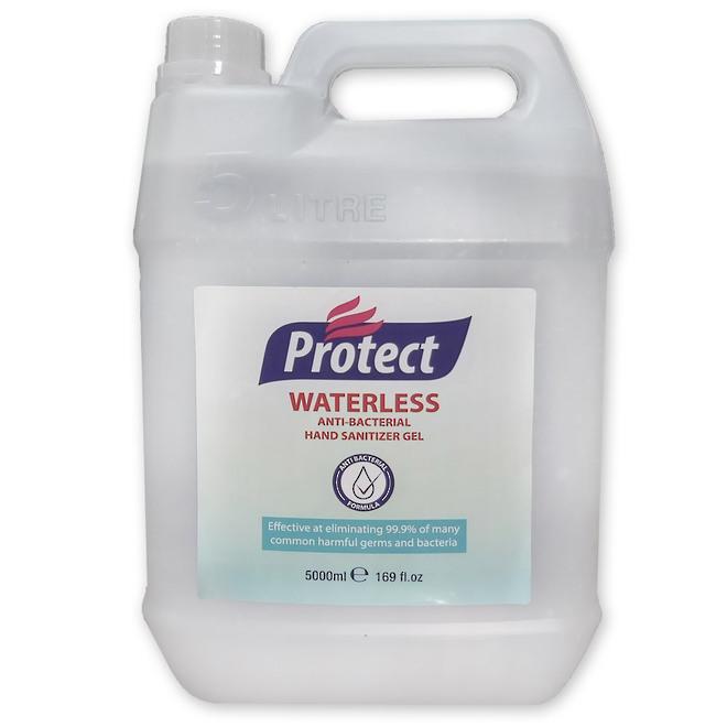 5L Waterless Anti-Bacterial Hand Sanitiser Gel image 0