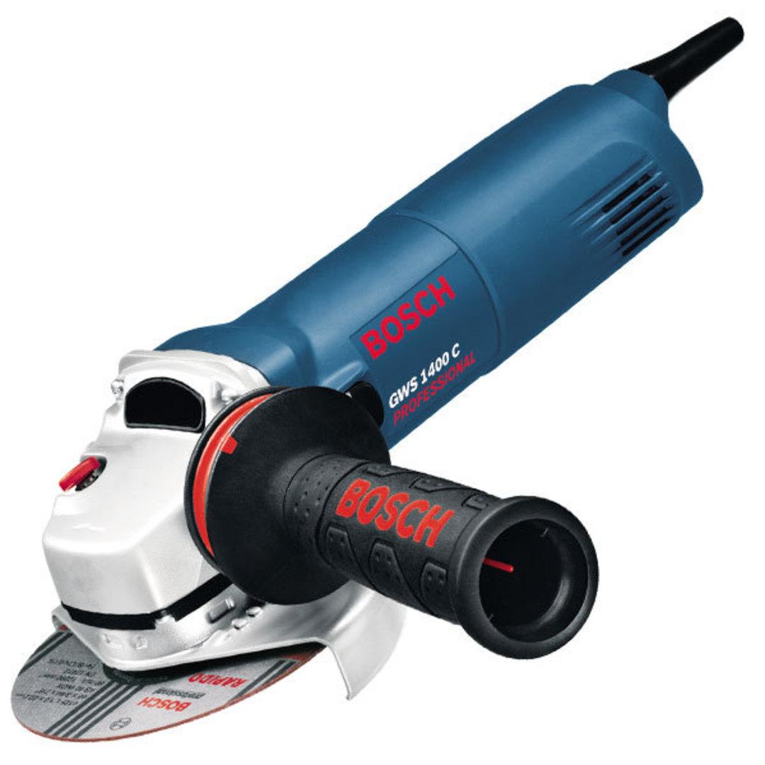 Bosch 125mm Angle Grinder 1400w - GWS 1400C image 0
