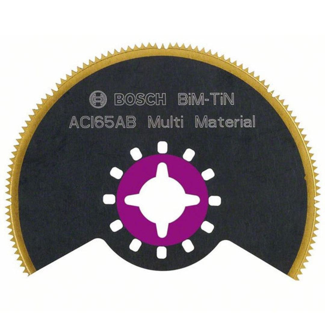 Bosch Segmented 65mm Saw Blade BIM-TiN - ACI 65 AB image 0