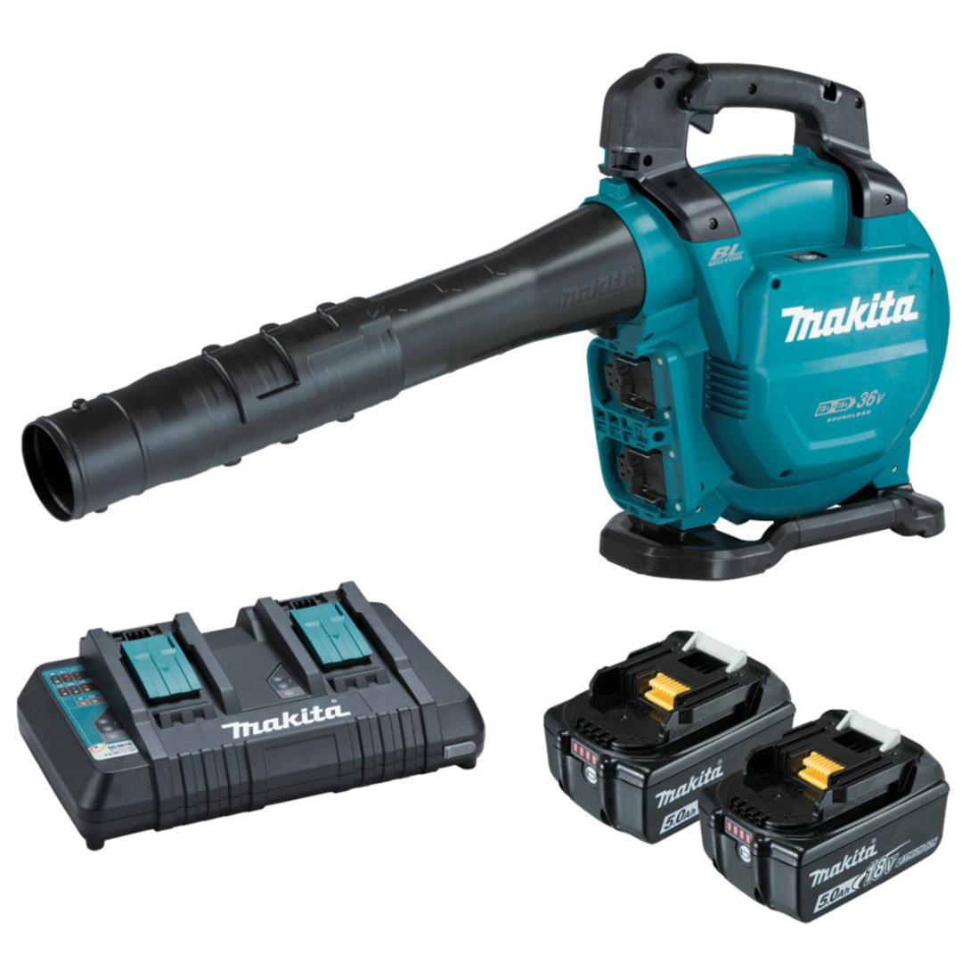 Makita DUB363PT2V 18Vx2 (36V) Brushless Blower/Vacuum, Kit (5.0Ah) image 0