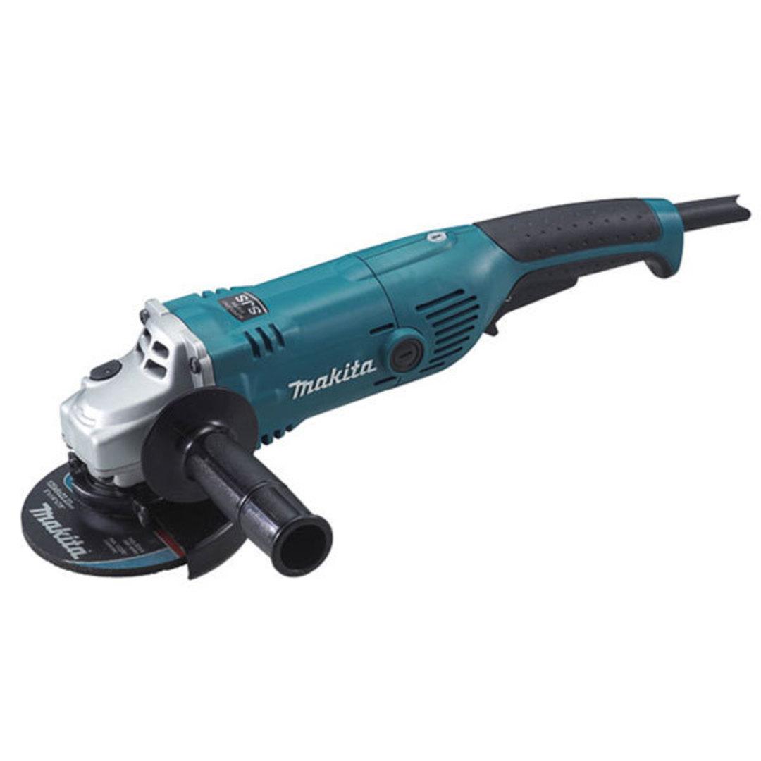 Makita 125mm Angle Grinder 1450w SJS - GA5021C image 0