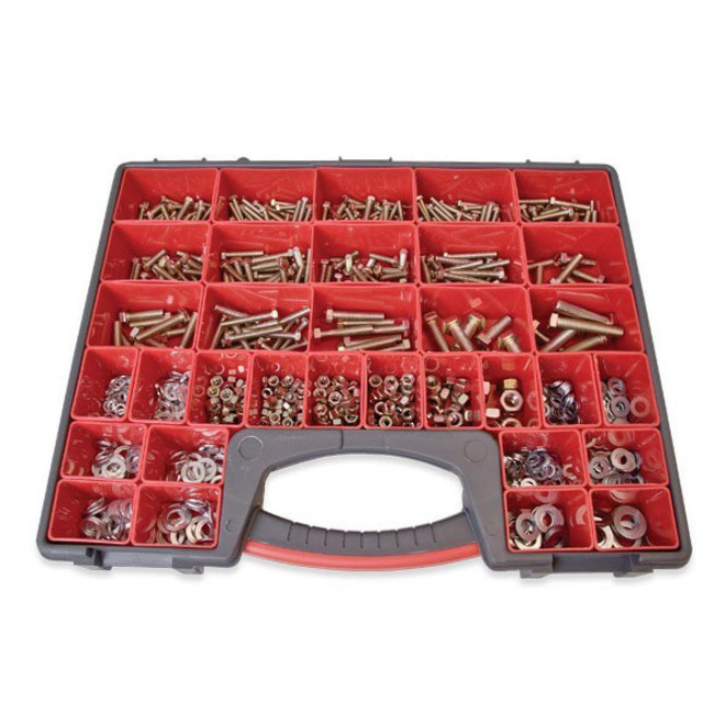 Assortment Nuts,Bolts & Washers 825pc image 0