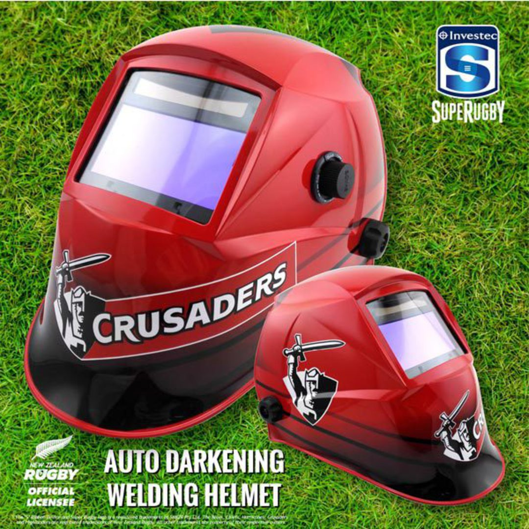 Investec Super Rugby Auto Darkening Welding Helmets image 2