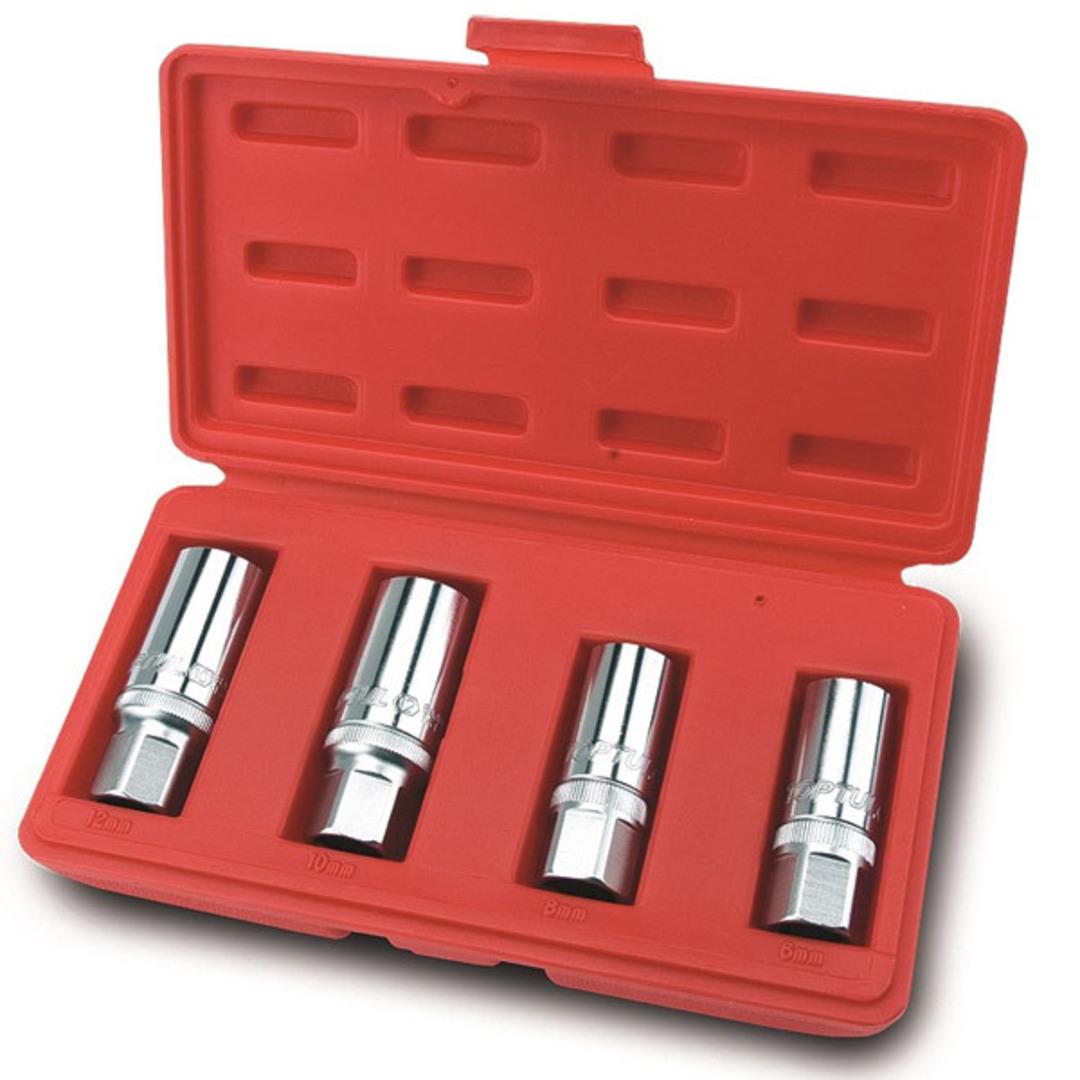 TopTul Stud Puller Kit 6mm 8mm 10mm 12mm image 0