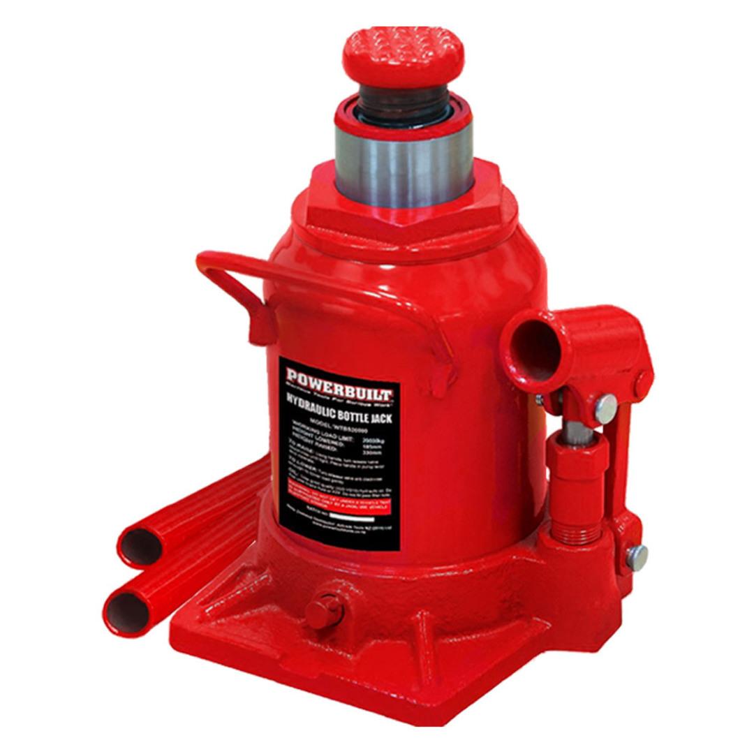 Powerbuilt 22Ton / 20000Kg Shorty Bottle Jack image 0
