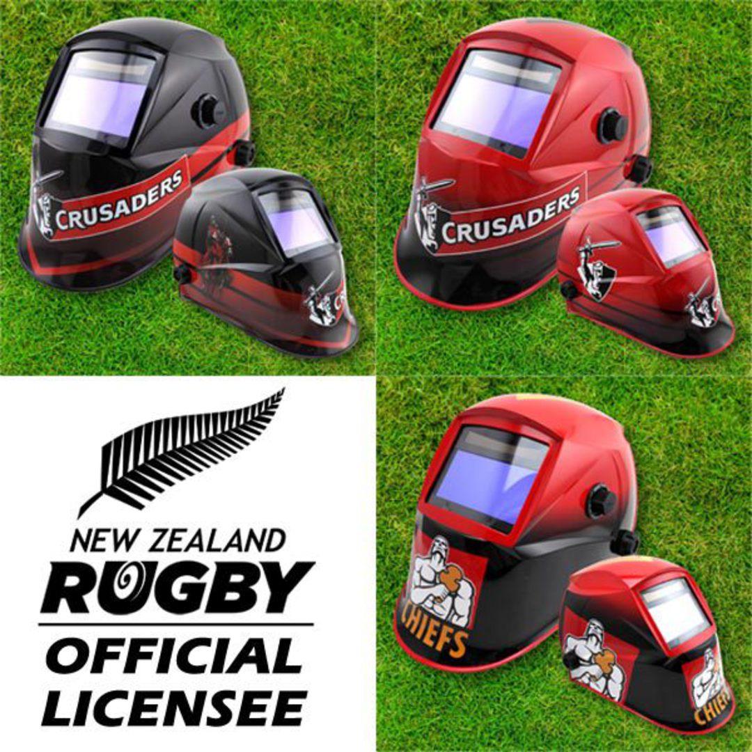 Investec Super Rugby Auto Darkening Welding Helmets image 0