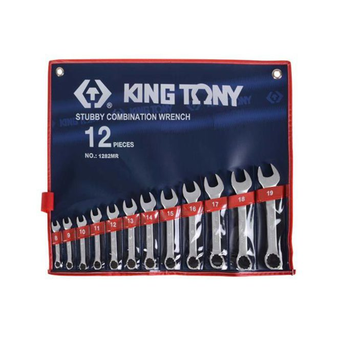 King Tony Stubby R&OE Wrench Set 8-19mm image 0