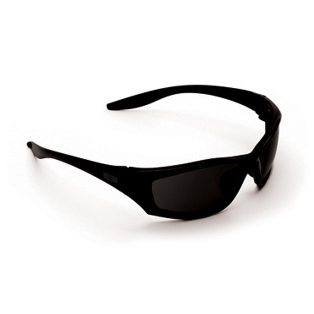ProChoice Safety Glasses Mercury Black Smoke image 0