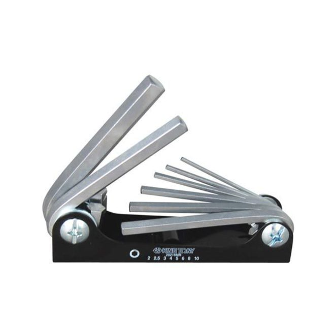 King Tony 8pc Metric Fold Up Hex Key Set image 0