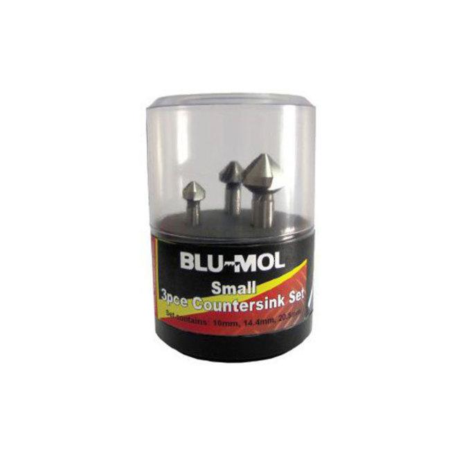 Blu-Mol 3pc Countersink Set image 0