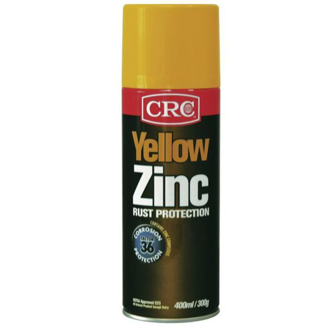 Zinc It Yellow 400ml CRC image 0