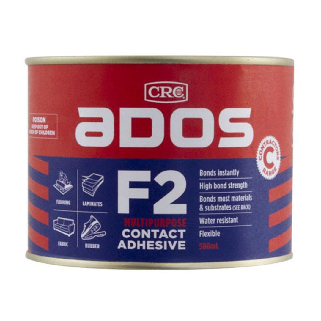F2 Contact Adhesive 500ml Ados image 0