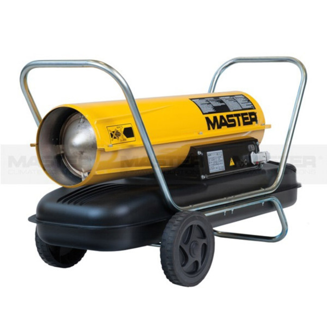 Master Direct Fire Diesel Heater 44kw image 0