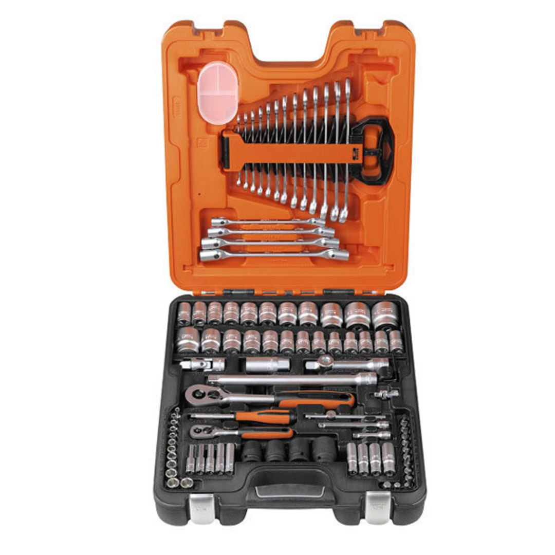 "Bahco 94pc Socket & Wrench Set 1/2"" Dr image 0"