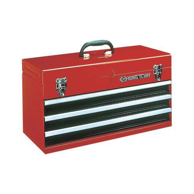 King Tony 3 Draw Portable Tool Box image 0