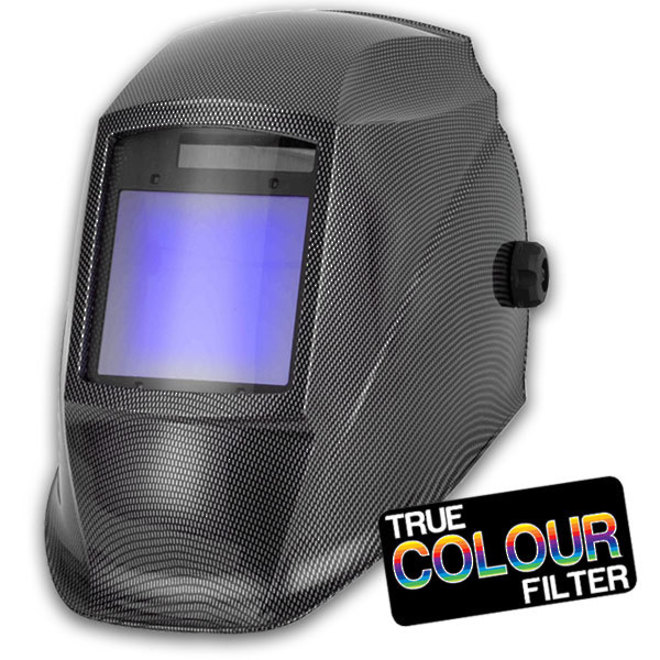 Weldsafe True Colour Auto Darkening Welding Helmet image 0