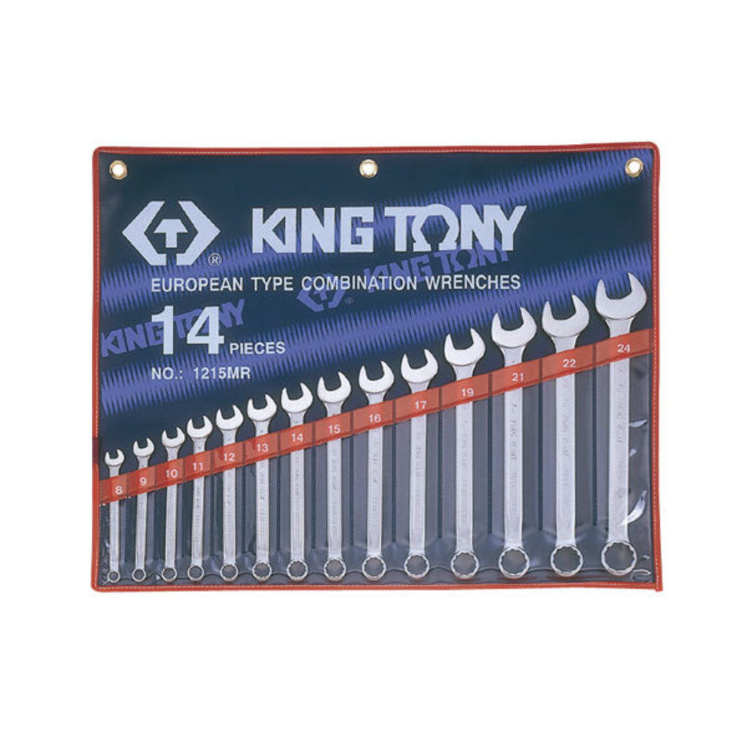King Tony 14pc R & OE Spanner Set image 0