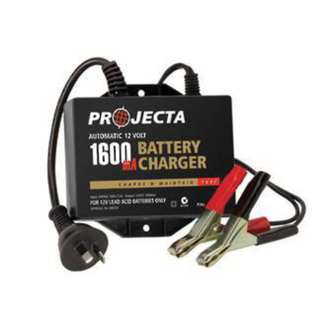 Projecta 12V Auto Battery Charger image 0