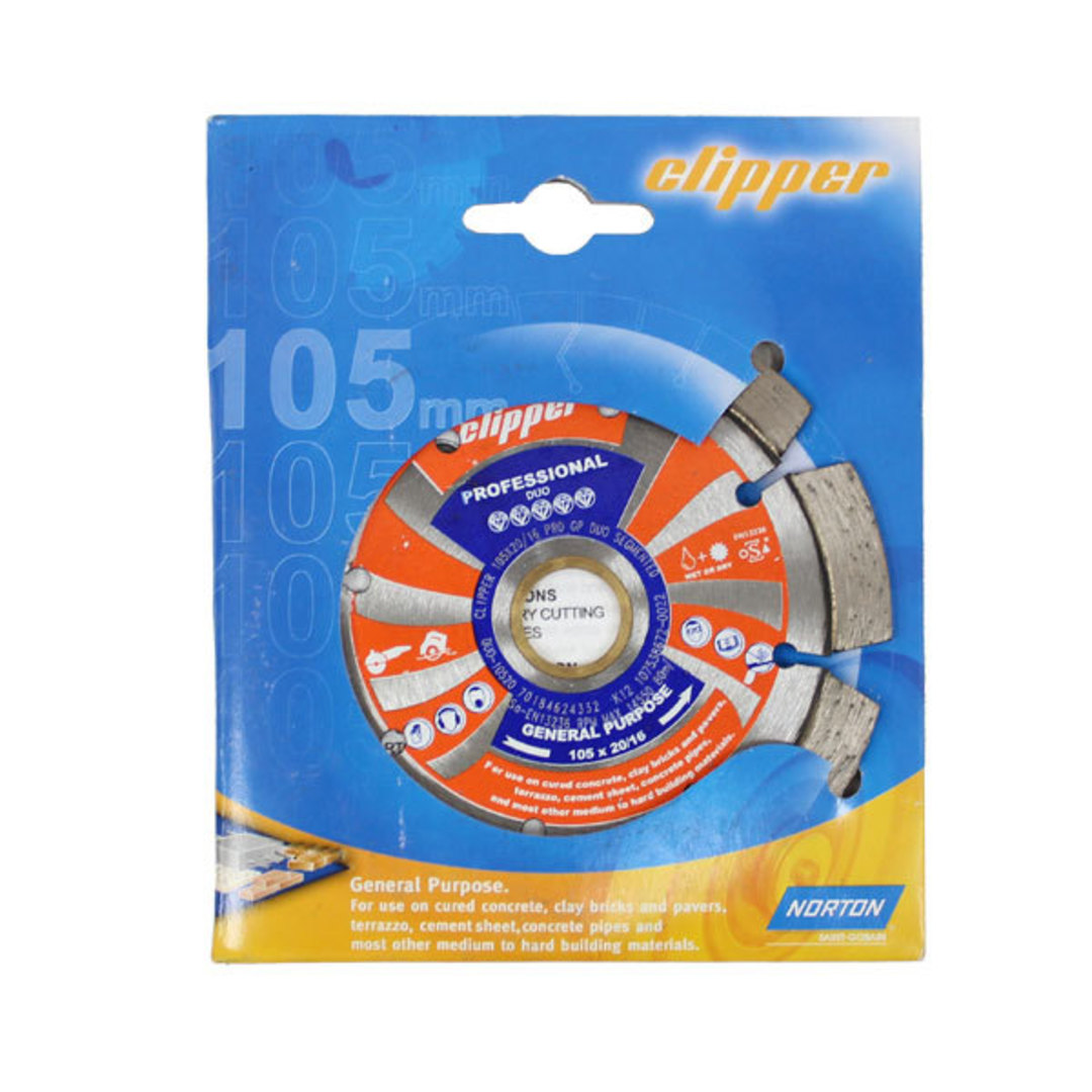 Clipper Duo Diamond Blades image 0