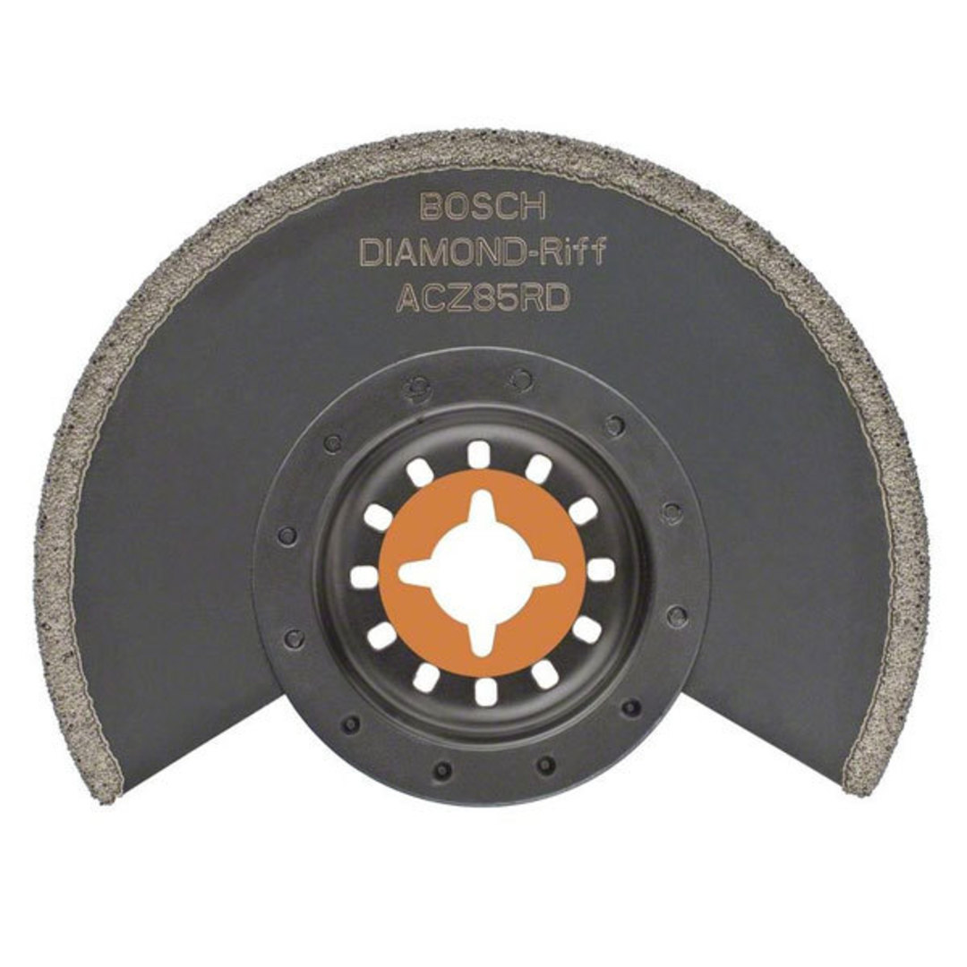 Bosch Segmented 85mm Saw Blade Diamond RIFF - ACZ 85 RD image 0