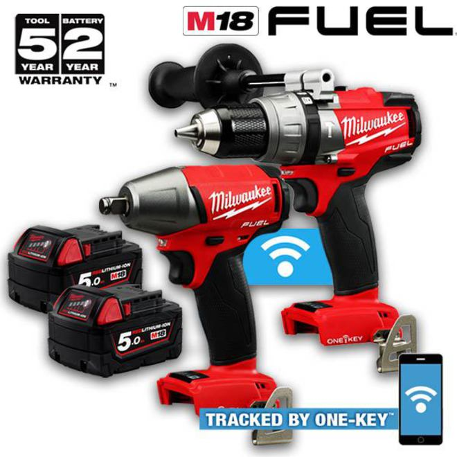 Milwaukee M18 FUEL 2pc Kit image 0