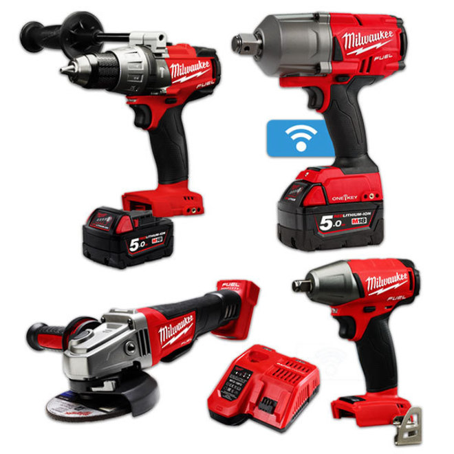 Milwaukee M18 FUEL 4pc Combo Kit image 0