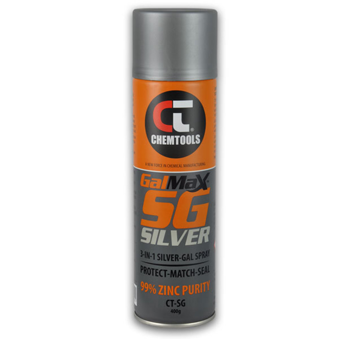 Chemtools Silver Galv Paint 400g image 0