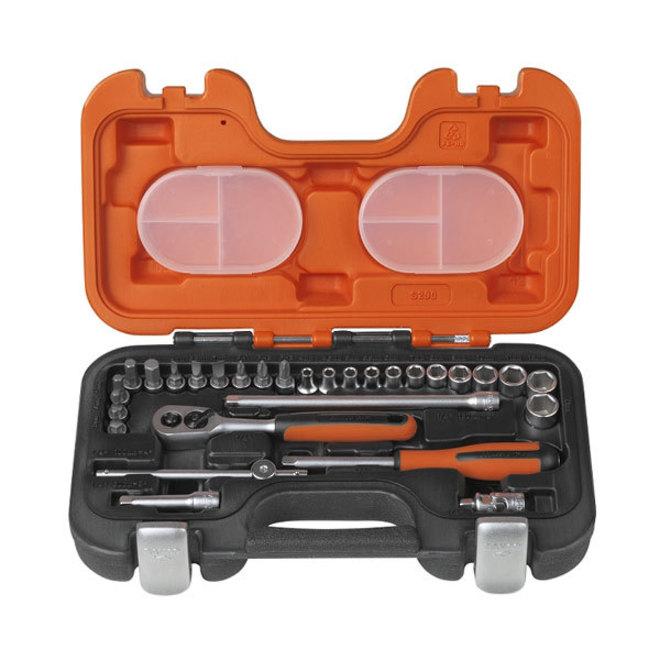 "Bahco 29pc Metric Socket Set 1/4"" Dr image 0"
