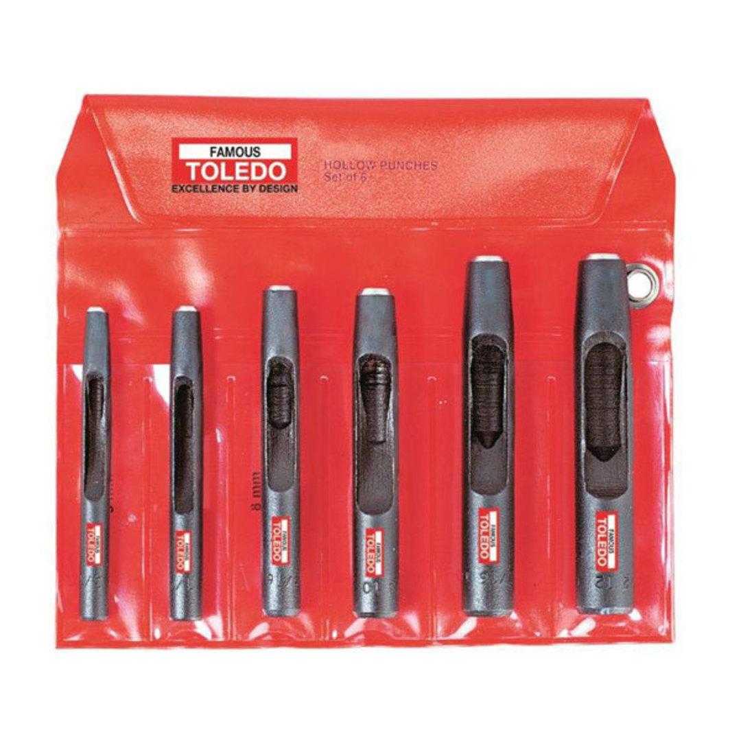 Toledo Hollow Wad Punch Set image 0