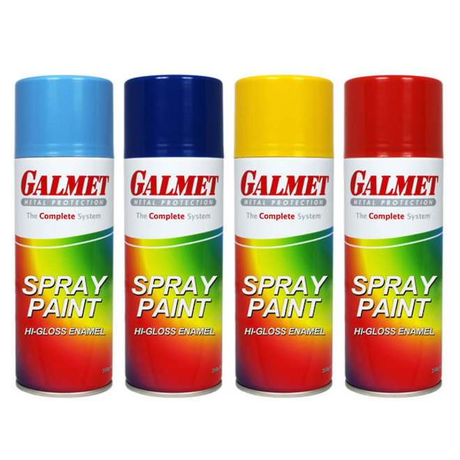 Galmet Ocean Blue Spray Paint 350g image 0
