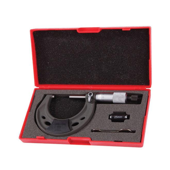 Starrett Micrometer Outside 0-25mm image 0