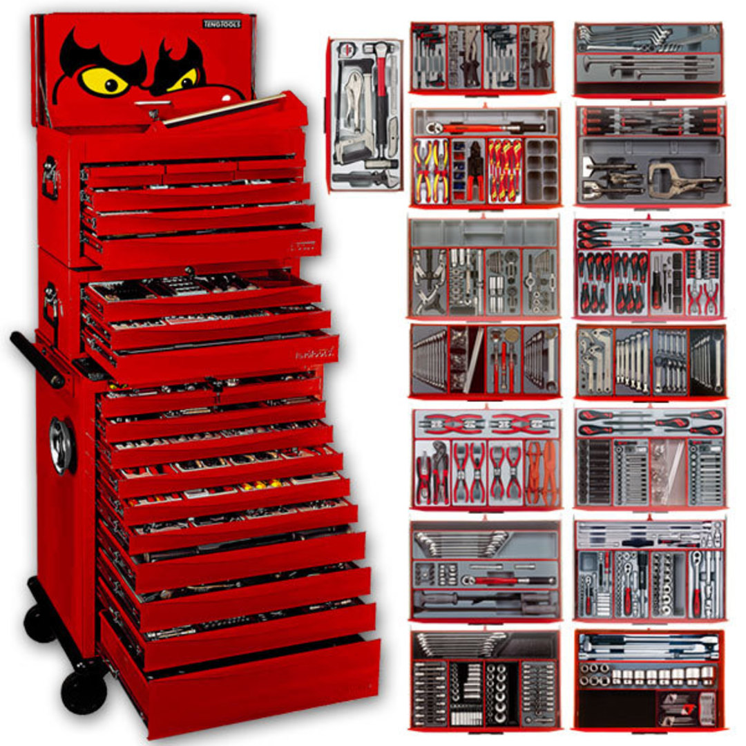 Teng Tools 1001pc Master Tool Set image 0