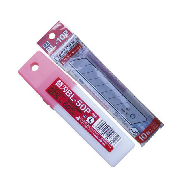 NT Cutter Knife Blades 18mm Snap-Off 50pcs image 0
