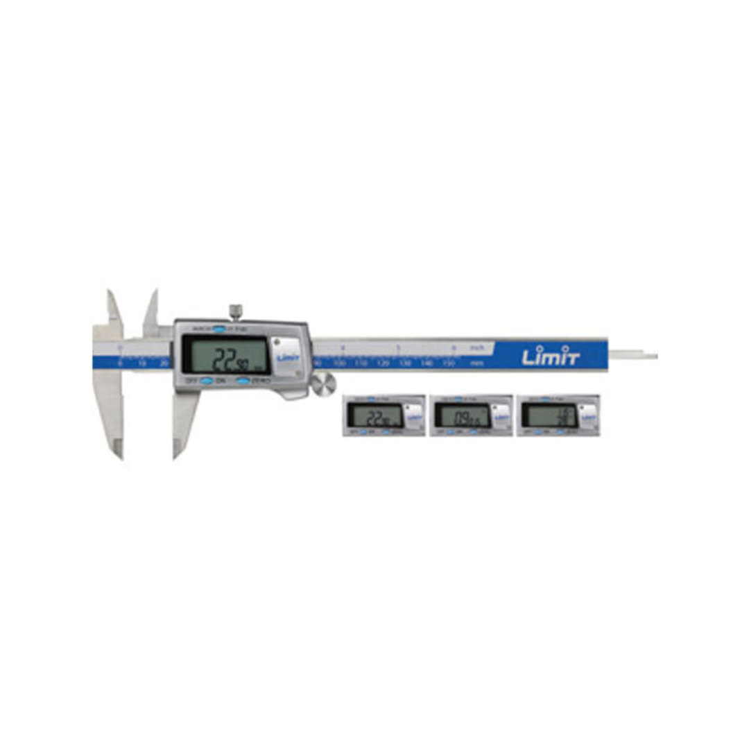 "Limit Digital Calipers Triple Scale 6""/150mm image 0"