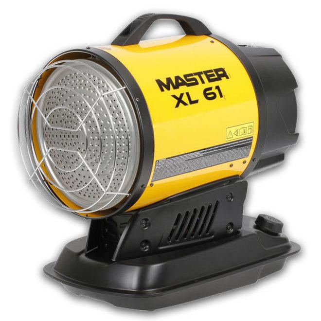 Master Infra Red Diesel Heater 17kw XL61 image 0