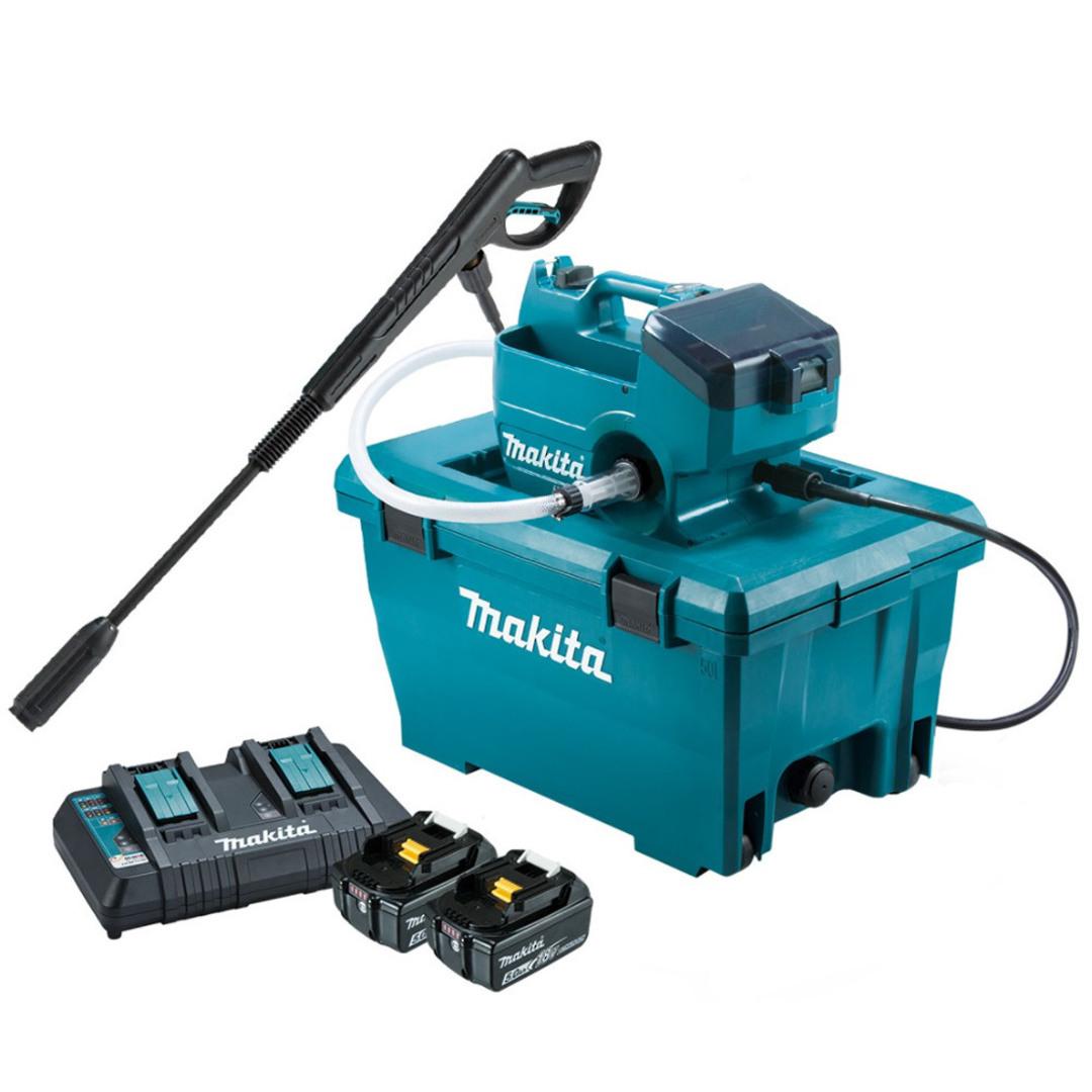 Makita DHW080PT2 18V Brushless Water Blaster, Kit (5.0 Ah) image 0