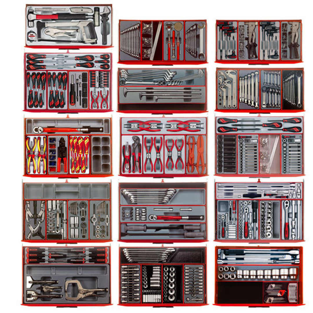 Teng Tools 1001pc Master Tool Set image 1