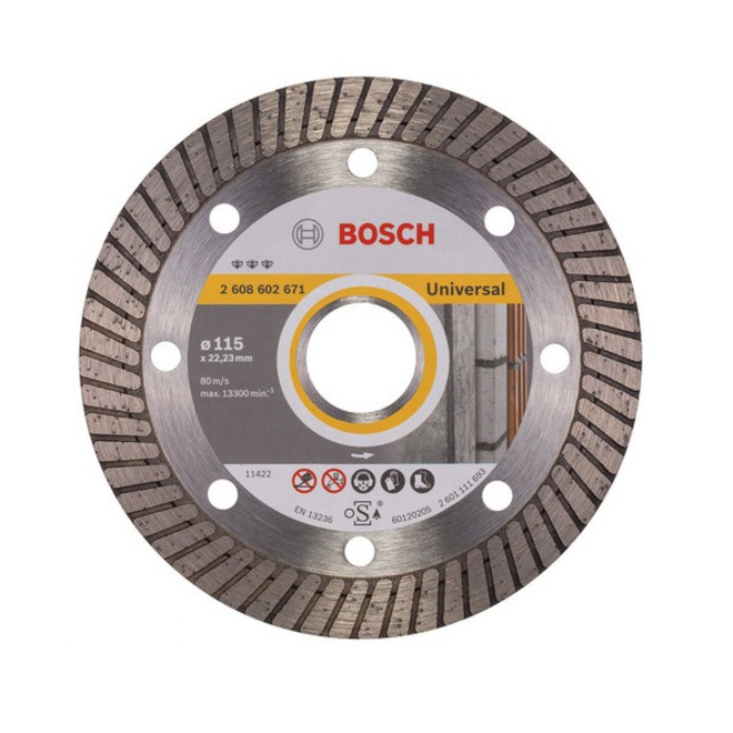 Bosch Best Turbo Universal Cutting Discs image 0