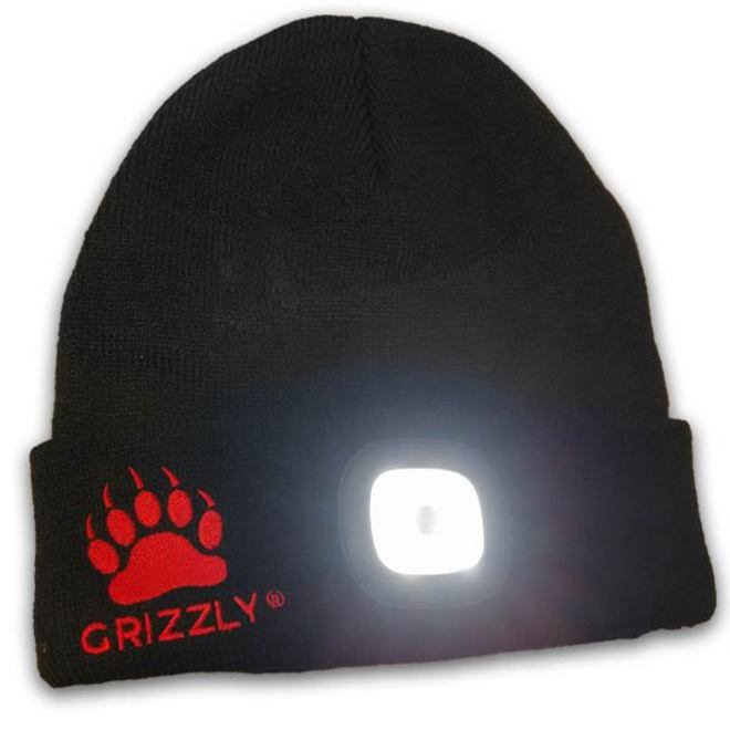 Grizzly Rechargable LED Beanie image 0